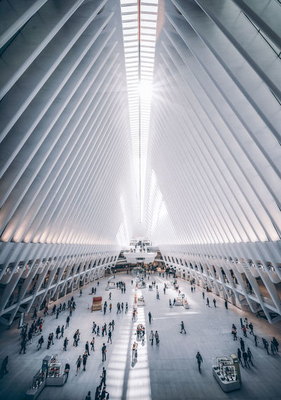 Oculus Light And Shadow Lightplay New York City Oculus NY Sonyalpha Architecture Modern Architecture EyeEmNewHere EyeEm Best Shots EyeEm Selects Tiny People Structures & Lines Design City Modern High Angle View Architecture Built Structure Architectural Detail My Best Photo The Architect - 2019 EyeEm Awards