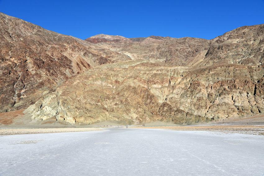 Badwater Basin, Death Valley NP, California Badwater Basin California Death Valley Desert Arid Climate Below Sea Level Mountain Salt Flat