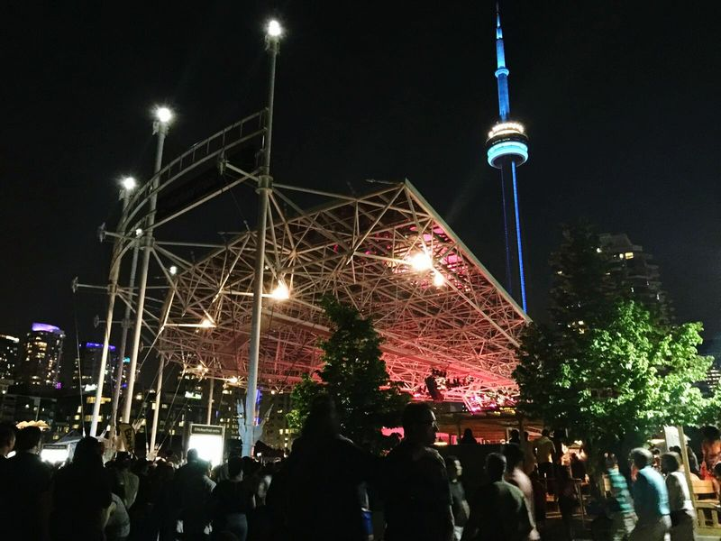 Toronto at night... Cities At Night Toronto Concert Citiesatnight Outdoor