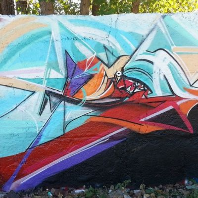 Better picture of this perfect day Mastrocola Spraypaint Abstract Colorize redstarmovement