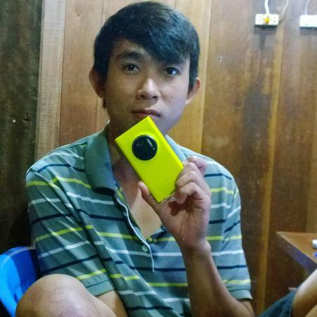 Hi! That's Me Enjoying Life Cheese! Phnom Penh Selfies Color Portrait