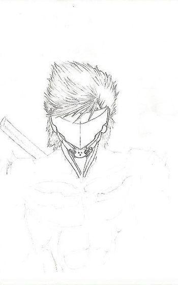 Drawing Metal Gear Solid Jack