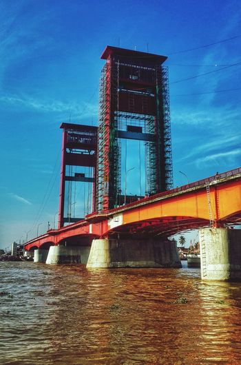 Taking Photos Travelling Hdr_Collection Street Photography Ampera Bridge from South of Sumatra...