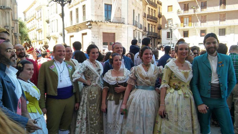 Valencia, Spain Enjoying People
