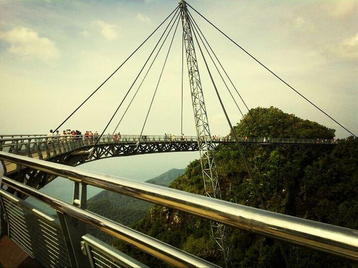 Langkawi Island in Malaysia. Sky bridge that hangs 4000 metres above sea level. Hanging Bridge EyeEm Best Shots - Architecture Bridgeporn Best Picture Ever.