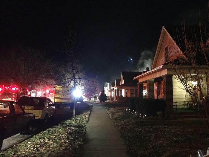 The Photojournalist - 2017 EyeEm Awards Night Illuminated Outdoors City Fire Emt Ambulance Firetruck