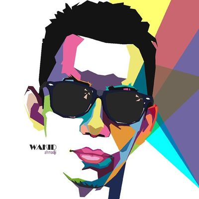 Face Colouring  Draw Wpap Art Artdaily Popart Design Gift Wakidaji By_riobhintoroo Photoshop Psd  Jpeg Image Edit Indonesian Instagram