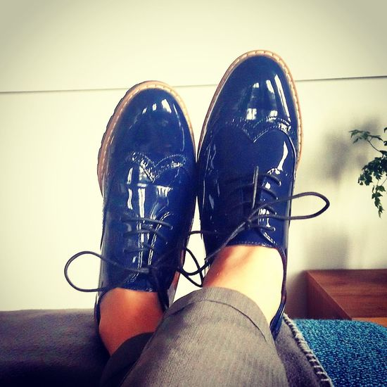 Lovely shoes Low Section Human Hand Personal Perspective Human Foot Limb Close-up Footwear