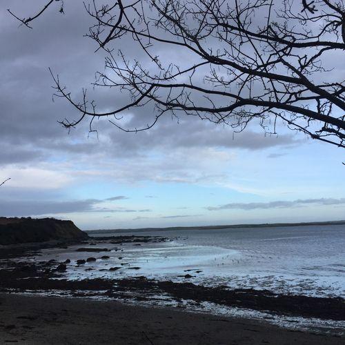 The calm Beach