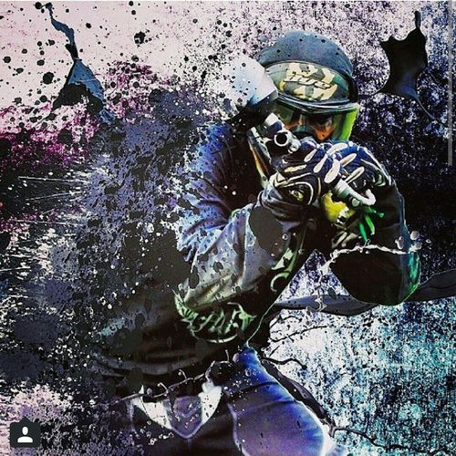 Adrenaline Junkie Paintball Paintballing Professional Team Maya Temple Player ... Ethekweni Ghost First Eyeem Photo