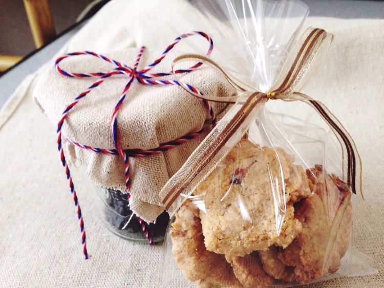 Present Whiteday Handmade Cookies Wrapping Presents Sweets