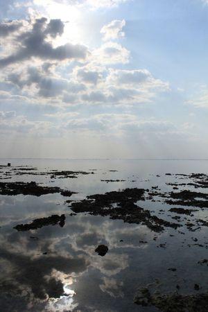 いしがき|きがしい Okinawa Ishigaki  Landscape Blue Sea Sun 鏡 Aoshi Sky