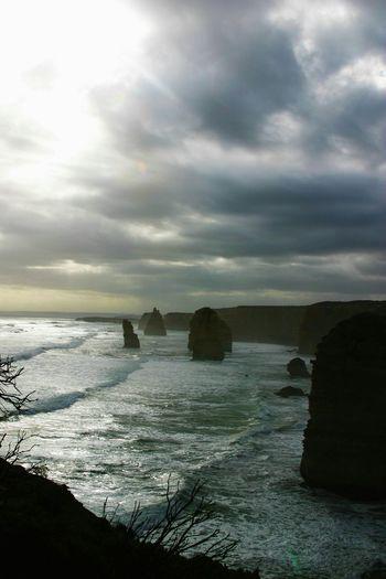Great Ocean Rd The Apostles Twelveapostles Ocean View Sea And Sky