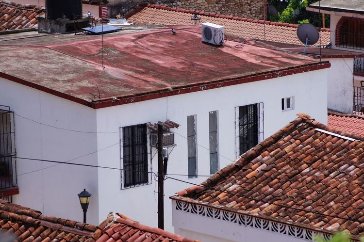 #pueblomagico #tapijulapa Architecture Building Exterior Built Structure Day Low Angle View Outdoors Roof