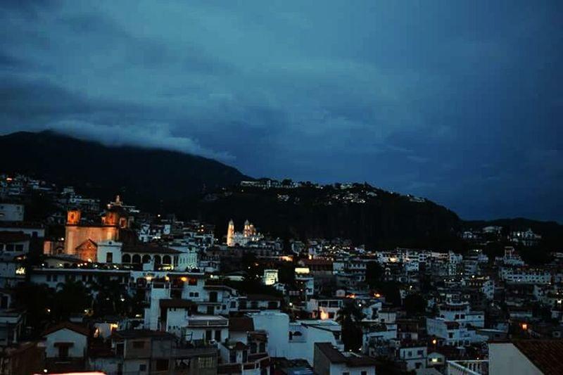 Cityscape Night City Outdoors No People Urban Skyline Sky Landscape