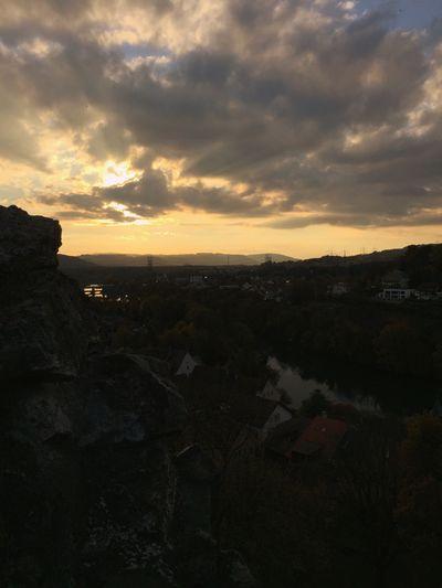 Nice Sunset on the castle at Laufenburg 🌄