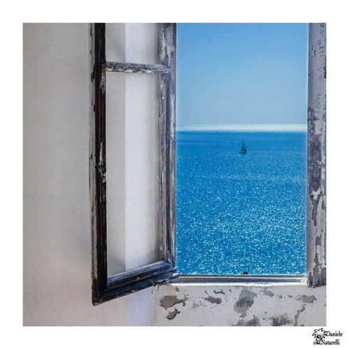 Summer Summertime Summer Views Infinity Infinity ∞ View From The Window... View Window Windows Sea Sea And Sky Sea View Sky Boat Sailboat Sail Sea Life Blue Blue Sky Blue Sea Bluesky Relaxing Peace Peace And Quiet Peaceful