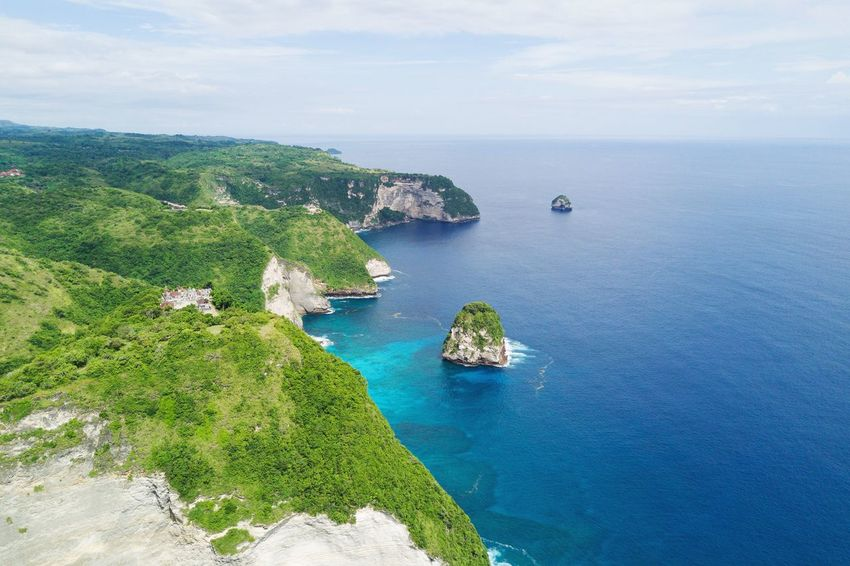 Water Sea Scenics - Nature Beauty In Nature Land Nature High Angle View No People Beach Outdoors Tranquility Tranquil Scene Day Aerial View
