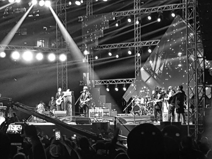 Cairokee Music Night Popular Music Concert Audience Crowd Performance Nightlife Stage - Performance Space Illuminated Large Group Of People Musician Performing Arts Event