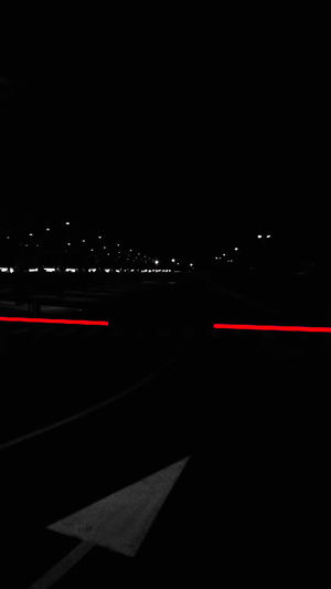 light in Bus Station Photography Red Color Busstation EyeEm Gallery Humanity Meets Technology Illuminated Road Speed Light Trail Long Exposure