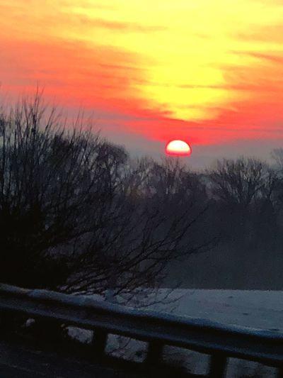 Pennsylvania sunrise Life Appreciation Hello World Good Morning Early Morning Life Appreciation Beautiful Nature Cold Sunrise Outdoors EyeEm Ready
