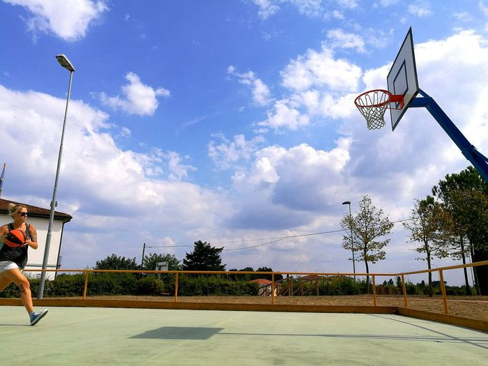 Basketball Time To Reflect TakeABreath Sky Park The Color Of Sport