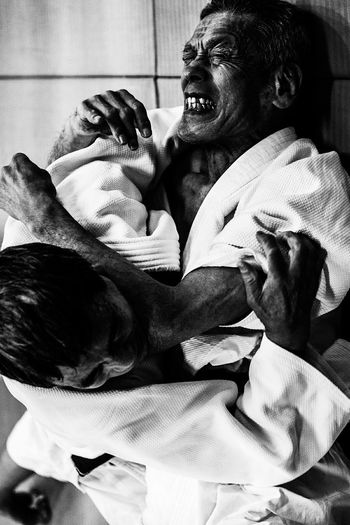 Black And White Jiu-jitsu Fight Fighting Capturing Movement Monochrome Photography Japan