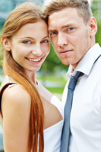 portrait of happy friends Adult Beautiful Woman Business Businessman Businesswoman Content Couple Couple - Relationship Emotion Face Get Married Hair Hairstyle Happy HEAD Headshot Joyful Leisure Activity Lifestyles Looking At Camera Love Man Men Outdoors Outside Partnership People Portrait Positive Emotion Real People Smile Smiling Student Students Together Togetherness Trainee Two People Wedding Woman Women Young Young Adult Young Women