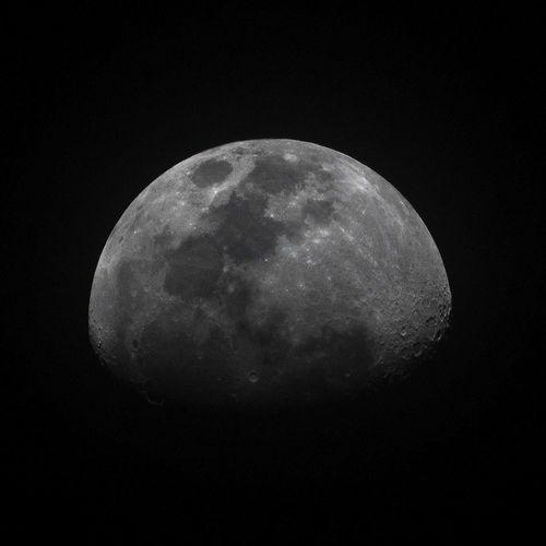 A half of moon