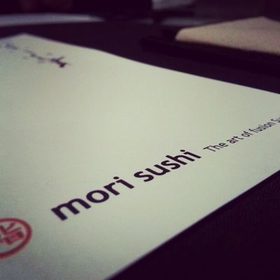 NewYear 's Dinner at Mori Sushi happy new year y'all