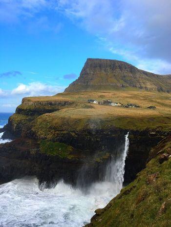 Faroe Islands Múlafossur Gasadalur