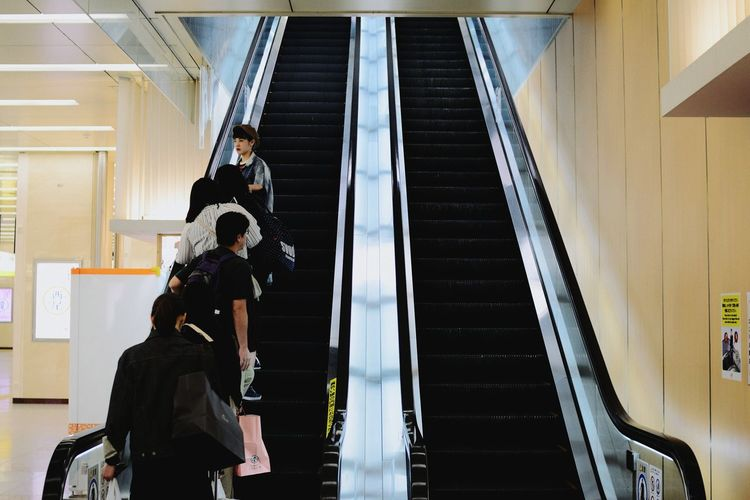 Indoors  One Person Adults Only Day One Man Only Stairs Eskalator People Scuba Diving Adult Only Men Subway Art Is Everywhere Station Shinkansen Shain Light Adult Commuter Still Life Capture The Moment EyeEmNewHere Architecture Building Exterior Building The Photojournalist - 2017 EyeEm Awards The Portraitist - 2017 EyeEm Awards