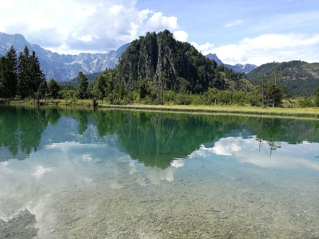 Austria Almsee Österreich Hiking Germany Beauty In Nature Outdoors Nature Day No People