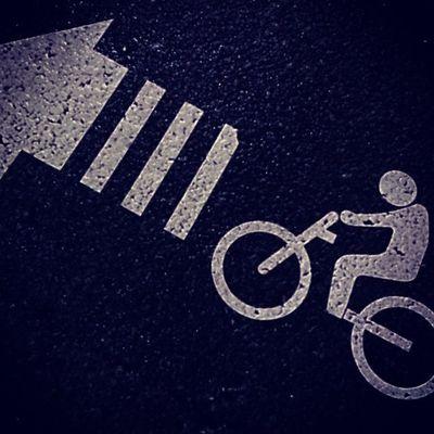 Keep going!! Bike Bicycle Signs Japan