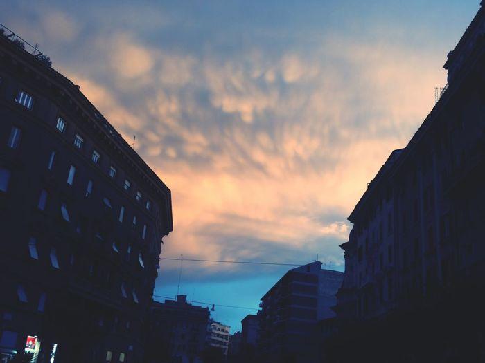 Una tela dipinta nell'infinito cielo ...