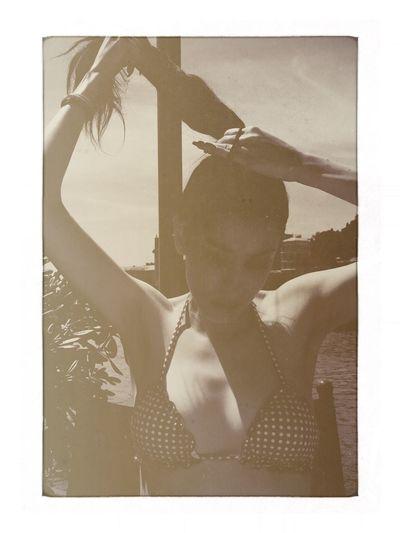 Enjoying The Sun Lina Liguria Seaside Baia Del Silenzio Portrait Of A Woman Fortheloveofediting Soaking Up The Sun