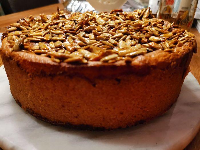 Self made apple cake