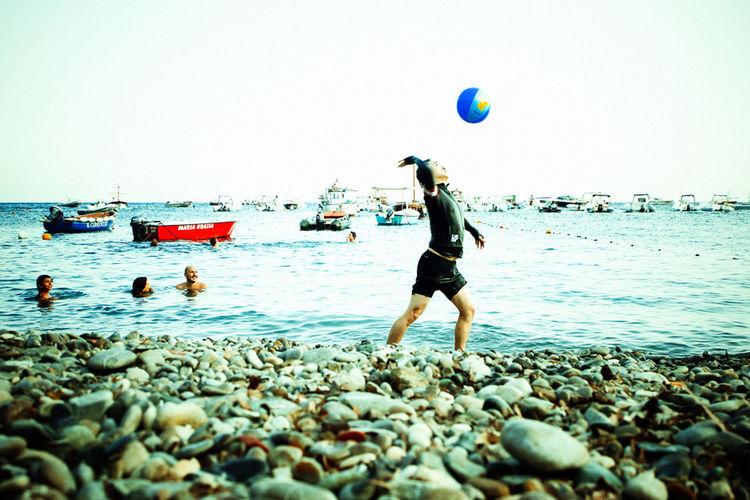 Beach Sea Adult