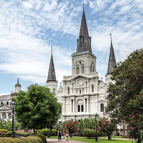 St Louis Cathedral New_Orleans Louisiana NOLA