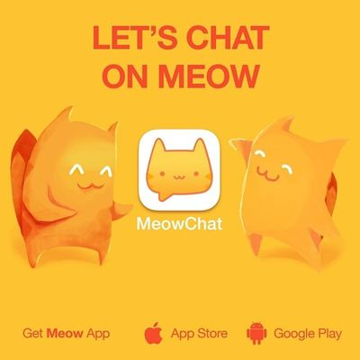 Let's chat on Meow: barbraongwico. Get the App here: @MeowApp or http://meow.me/?app Meowchat