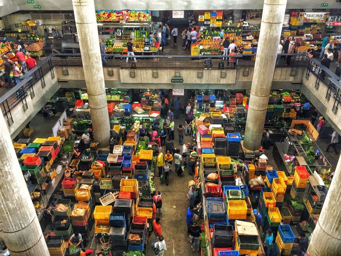 High Angle View Market Travel Destinations Buying Multi Colored Cultures Market Stall City Colorful Eyemphotography Geometric Arquitecturephotography Urban Exploration Chaos Eyemcolorphotos