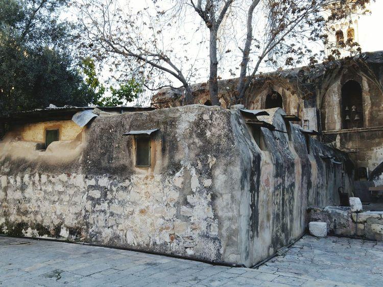 Christian Quarter Oldcity Jerusalem Israel Ethiopian Ethiopian Orthodox Monestary