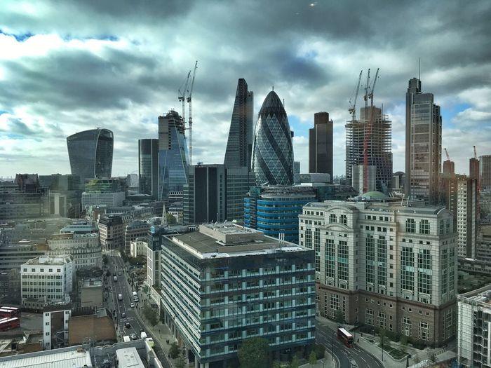 Skyline London ... Skyscraper Architecture Cityscape Cloud - Sky Urban Skyline LONDON❤ Downtown District EyeEm Best Shots Eye4photography