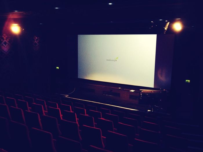 Checking out the venue for @seedcamp Demoday with @pmoe @kirst