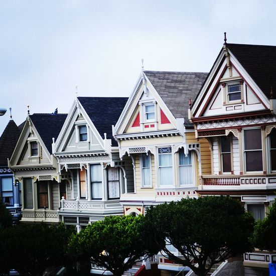 The Painted Ladies - San Francisco Building Exterior House Architecture Sky No People Outdoors Day Sanfran San Francisco Sanfrancisco Paintedladies