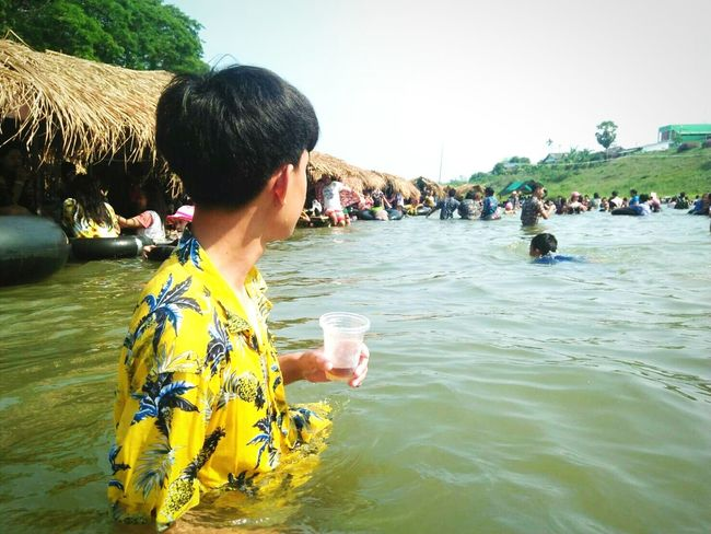 Water Real People Food And Drink Nature Holiday People Leisure Activity