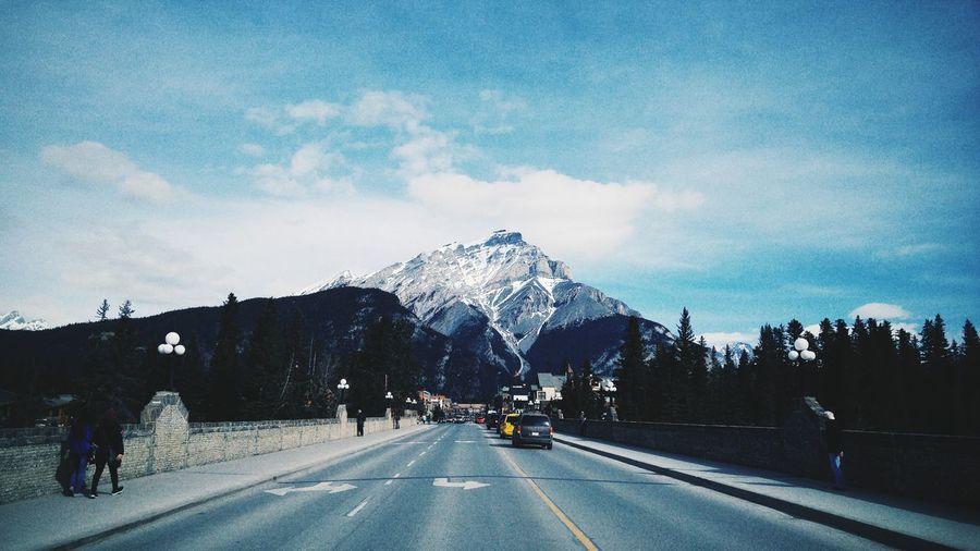 Mountain View Mountains Banff National Park  Banff Alberta
