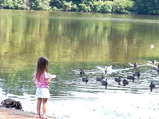 What I Value Feeding Ducks Priceless Princess ♥