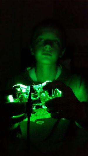 Light Up Your Life Neon Lights Xbox 360 Color Portrait