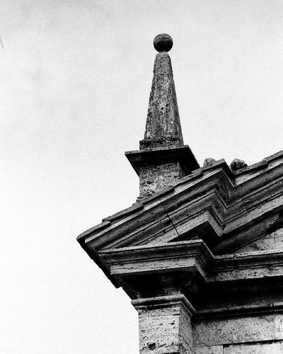 Tuscany Kodak Film Photography Tuscany Architecture Built Structure Low Angle View Building Exterior No People Tower Day Travel Destinations Building Travel